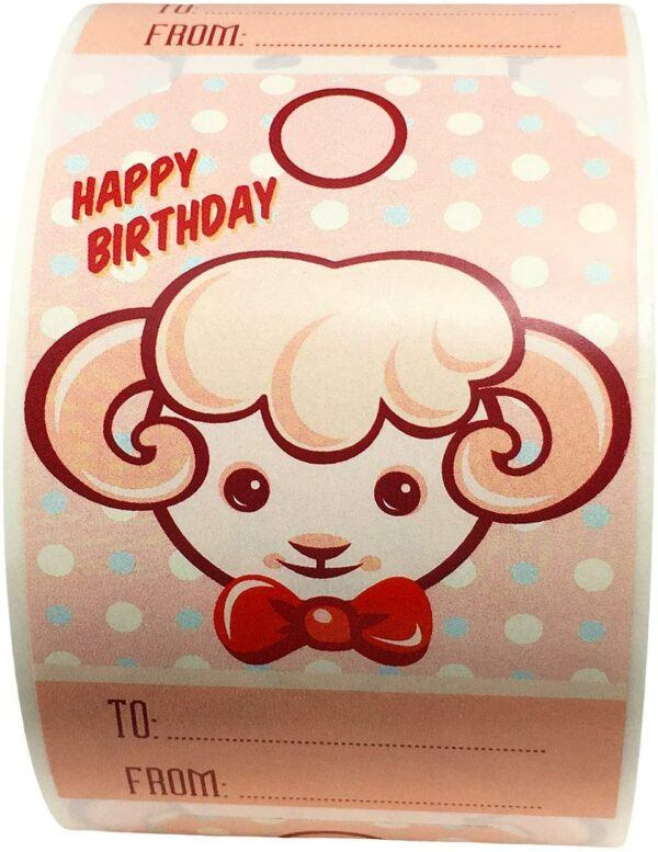 Birthday Gift Labels and Tags: