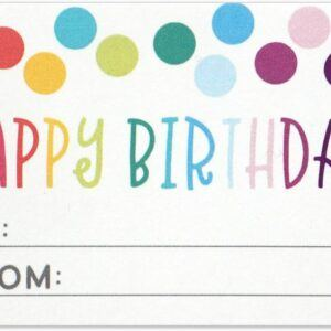 Birthday Gift Tag Sticker