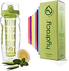 HydracyGifts That Are Green: Fruit Infuser Water Bottle
