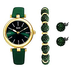 Gifts That Are Green: Burgi Ladies Watch Gift Set