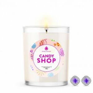 Candy Shop Signature Jewelry 10oz Earrings Candle