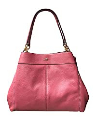 Coach Pebbled Leather Lexy Shoulder Bag Handbag