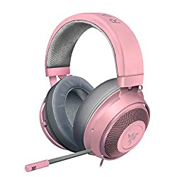 Gifts That Are Pink: Gaming Headset with Retractable Noise Isolating Microphone