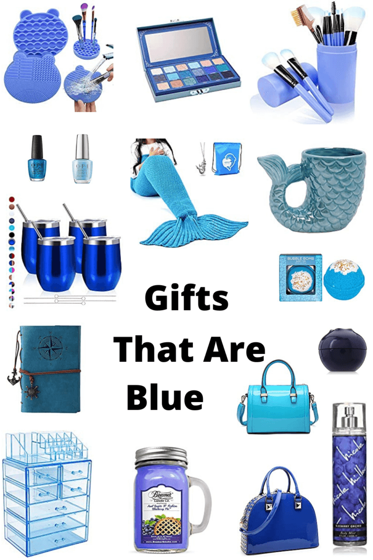 Gifts That Are Blue For Women