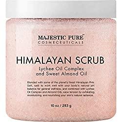 Himalayan Salt Body Scrub with Lychee Oil