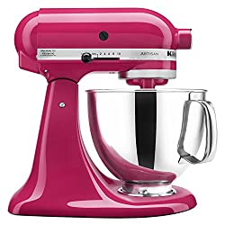 Gifts That Are Pink: KitchenAid RRK150CB 5 Qt. Artisan Series - Cranberry