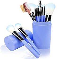 Makeup Brush Set 12 Pcs Blue