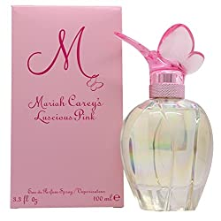 Gifts That Are Pink:: Mariah Carey Luscious Pink Eau de Parfum Spray for Women, 3.4 oz