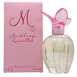 Gifts That Are Pink:: Mariah Carey Luscious Pink Eau de Parfum Spray for Women, 3.4 oz
