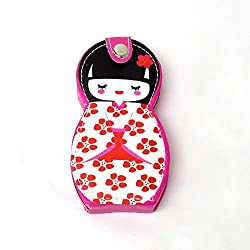 Nail Clipper Set in Japanese Kokeshi Doll Case