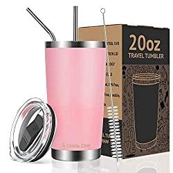 Pink Travel Tumbler