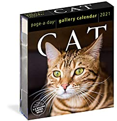 Cat Page-A-Day Gallery Calendar 2021