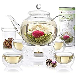 Complete Glass Tea Set