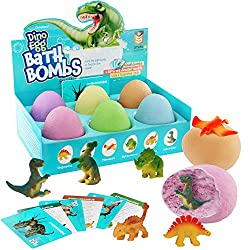 Kids Bath Bomb with Dinosaur Surprise Inside
