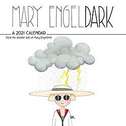 Mary EngelDark 2021 Wall Calendar Calendar – Wall Calendar
