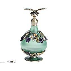 Gifts That Are Green: Retro Mini Green Butterfly Perfume Bottle 24ml by H&D
