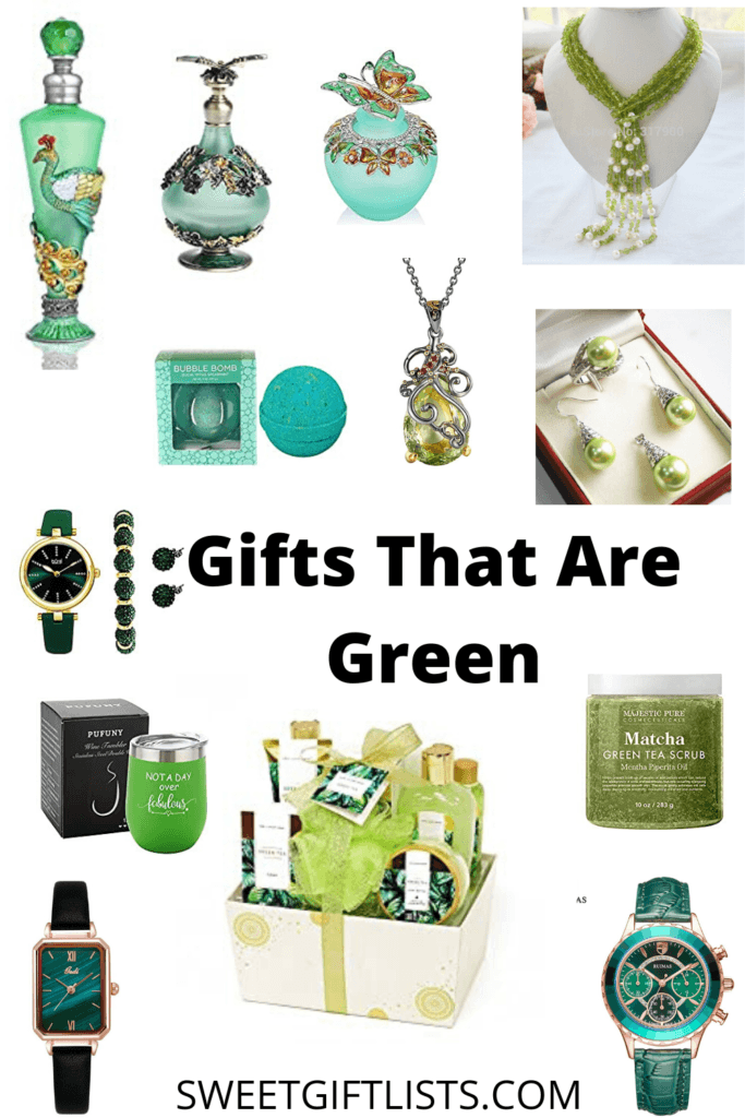 Gifts That Are Green
