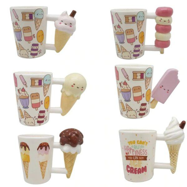 Dessert Coffee Mugs