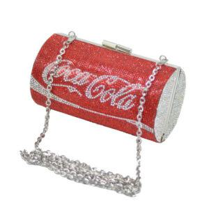 Coke and Diet Coke Diamond Evening Bag