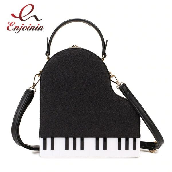 Novelty Purses: Grand Piano Shoulder and Handbag