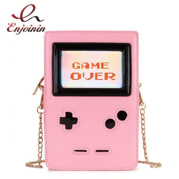 Novelty Purse: GAME OVER Ladies Purse and Handbag