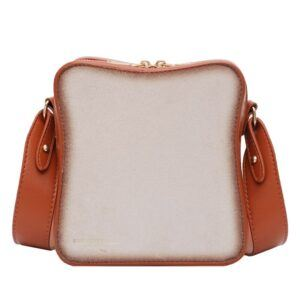 Slice of Bread Shoulder Purse Small