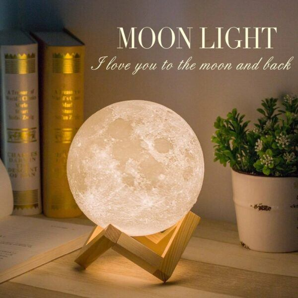 Moon Lamp 1: Touch Activation