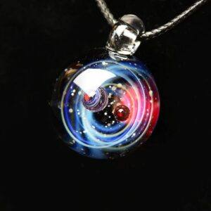 Solar System Design Necklace 11