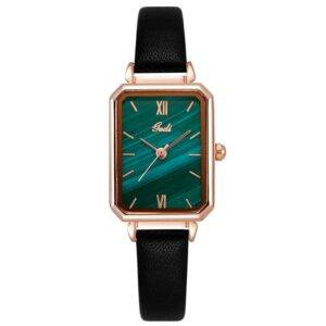 2020 New Fashion Retro Square Women Watch