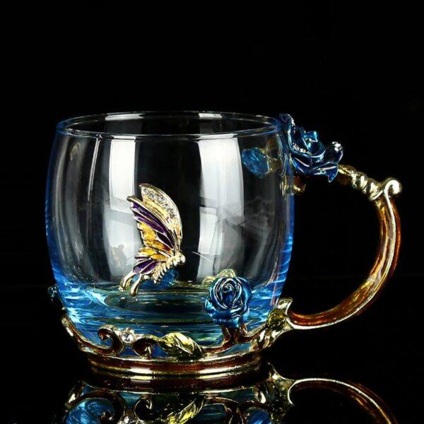 Gifts That Are Blue: Enamel Tea Cups 2