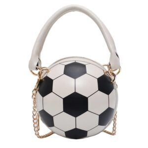 Novelty Purses: Soccer Ball Hand Bag