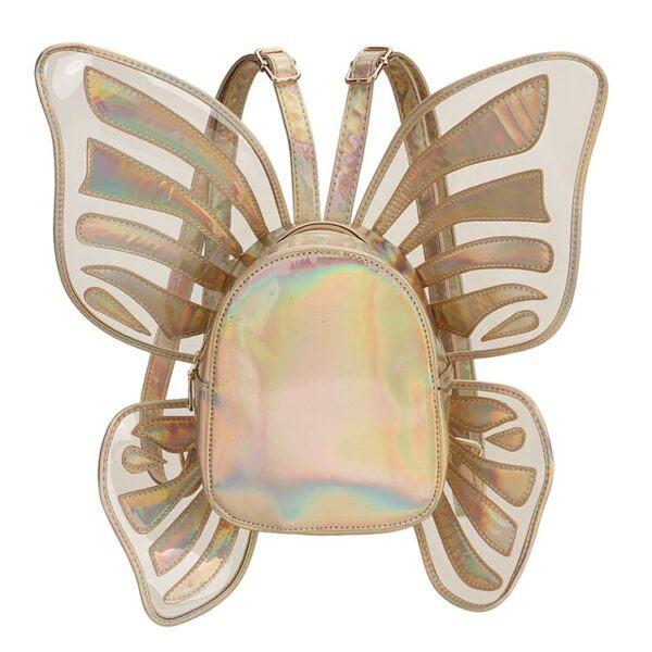 Novelty Purses: Butterfly Angel Wings Mini Backpack