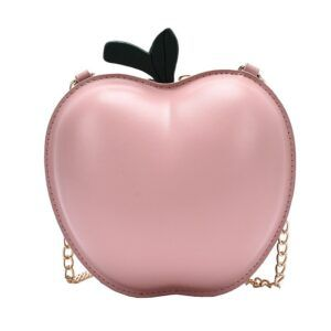 3D Fun Apple Design Shoulder Bag