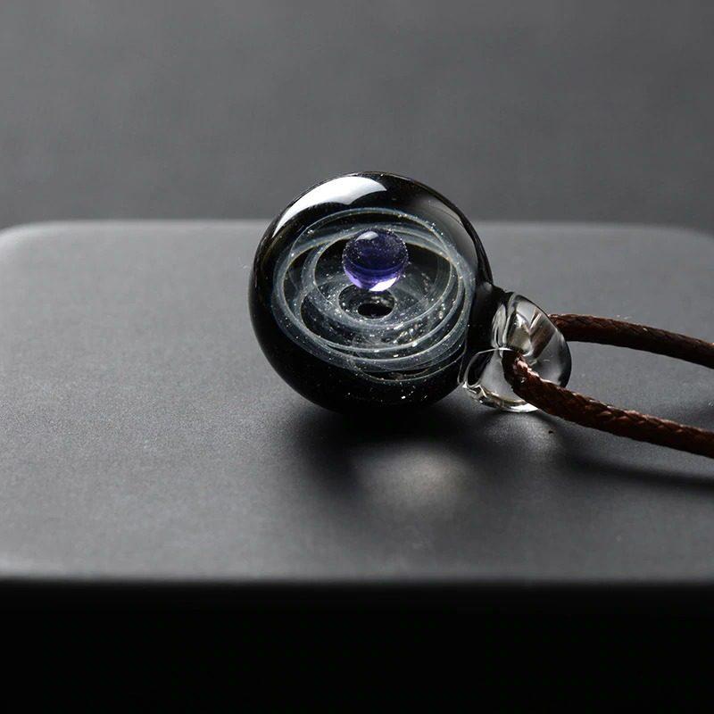 Solar System Design Necklace 3