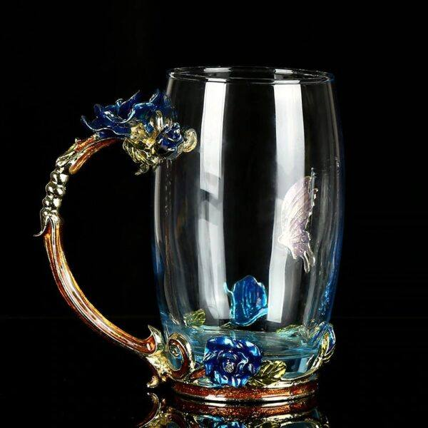 Gifts That Are Blue: Enamel Tea Cups 3