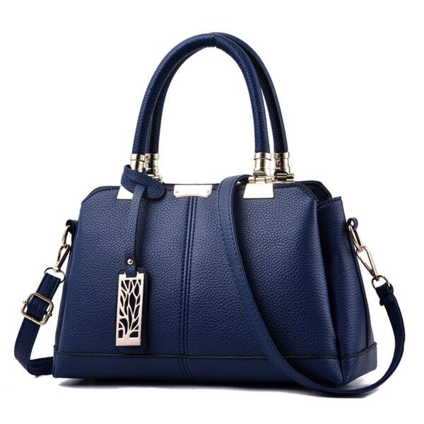 Gifts That are Blue: Navy Casual Tote Handbag