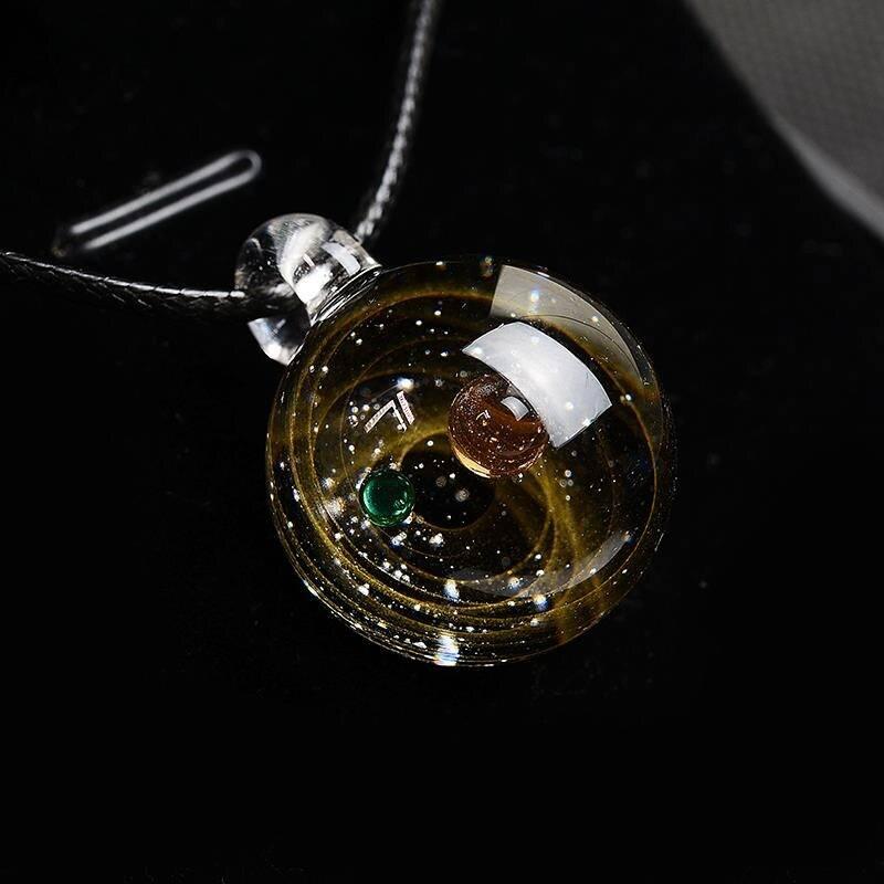 Solar System Design Necklace 4