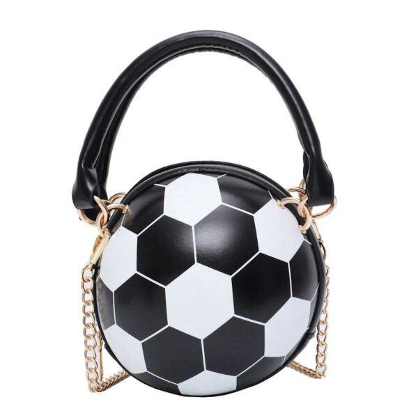 Novelty Purses: Soccer Ball Hand Bag