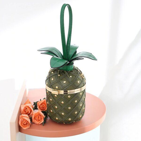Pineapple Shape Shoulder and handbag for Women