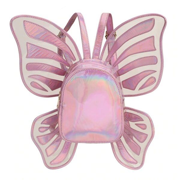 Novelty Purses: Butterfly Angel Wings Mini Backpack