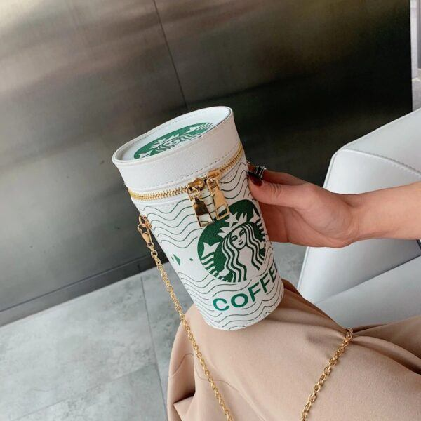 Novelty Purses: Coffee Bucket Handbag