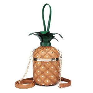 Pineapple Shape Shoulder and handbag for Women