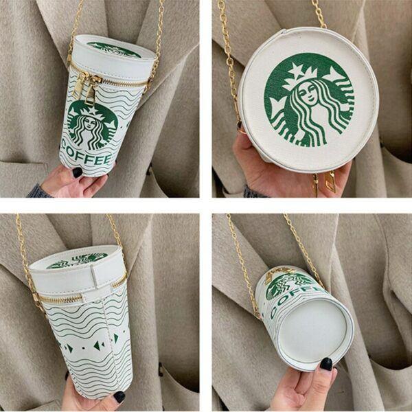 Novelty Purses: Coffee Bucket Handbag
