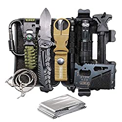 Gift Sets For Men: 11-in-1 Survival Gear Kits