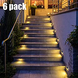30 LED Solar Step Lights