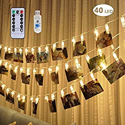 40 LED Photo Clip Lights
