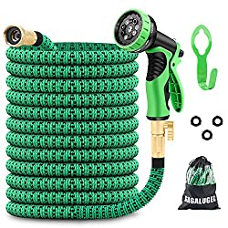 50ft Expandable Garden Hose with 9 Functions Nozzle