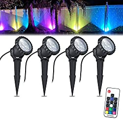 Color Changing LED Landscape Lights 12W