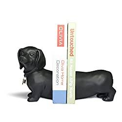 Dachshund Bookend Set for Dog Lovers