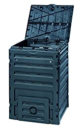 Eco-Master Polypropylene Composter, 120-Gallon, Black